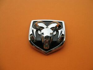 02 03 04 05 Dodge Ram Front Grille Chrome Emblem Logo Badge Sign Symbol Oem 3657