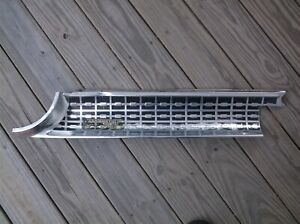 1963 Ford Galaxie Rear Left Tail Light Trunk Filler Panel Trim Molding
