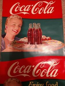 NOS 1951 Coca Cola Advertising Posters  6 Uncut Rolled Together