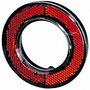 Hella Reflector Red Fits Opel Vauxhall Vw Seat Astra G Classic Lupo 70347705