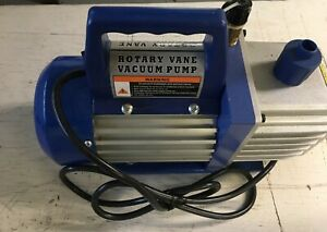 Rotary Vane Deep Vacuum Pump 5cfm 1 2 Hp 2 stage High Performance