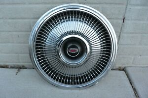 70s Vintage Ford Lincoln Mercury 15 Inch Hubcap