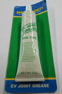Speedi boot Cv Joint Grease Universal Cv Joint Grease 3 Oz Resealable Tube