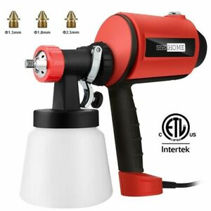 Vivohome 450w Electric Spray Gun Hvlp Car Paint Sprayer Pattern Flow Control