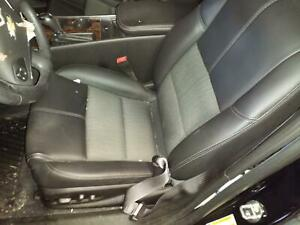 2014 2015 Chevrolet Impala Driver Front Seat Lt Cloth And Leatherette Black