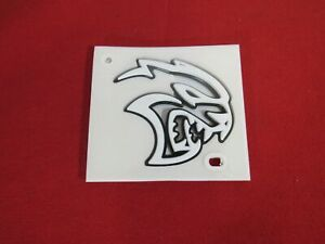 Dodge Charger White Hellcat Badge Right Side New Oem Mopar