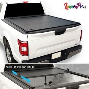 2019 2021 Silverado Gmc 5 8ft Bed Retractable Roll up Hard Solid Tonneau Cover