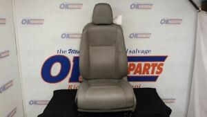 17 Toyota Highlander Front Left Driver Power Seat Gray Leather