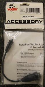 Vexilar ADP020 AlumaDucer 9 Pin Adapter Cable for Bottom Line Fish Finders NEW