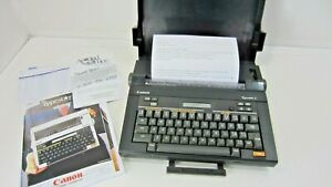 Canon Typestar 3 Typewriter With New Ribbon Working