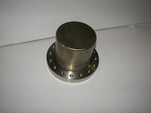 Mdc High Vacuum Rearch Chamber 6 Flange Special Made 4 Od Cap