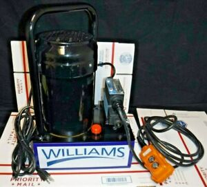 Williams Electric 5es05h1g Driven Hydraulic Pump 10000 Psi Single Acting