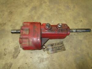 Ih Farmall 400 450 M Md Working Behlen Power Steering Unit Antique Tractor