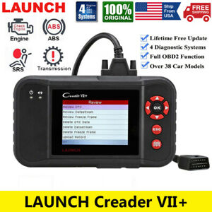 Automotive Obd2 Scanner Code Reader Auto Diagnostic Tool Engine Abs Srs Airbag