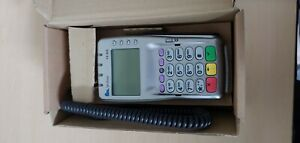 Verifone Vx 805 Pos Chip Reader Credit Card Payment Terminal W Pin Pad refurb