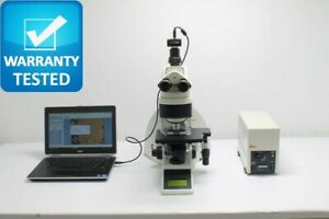 Leica Dm4000 B Fluorescence Motorized Microscope Unit4