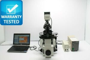 Olympus Ix70 Inverted Fluorescence Phase Contrast Microscope Unit3
