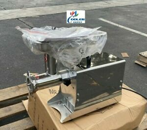 New Commercial Electric Meat Grinder 550w Stainless Steel Beef Mincer Hfm 12