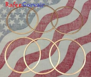 1960 69 Corvair Set Of 6 Cylinder Base Gaskets Copper Size 020 Sale