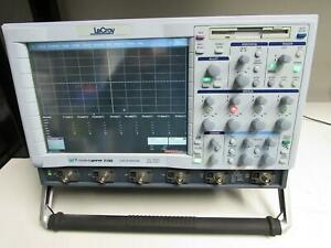 Lecroy Wavepro 7100 Oscilloscope 1ghz Dual 20gs s 4channel Opt M