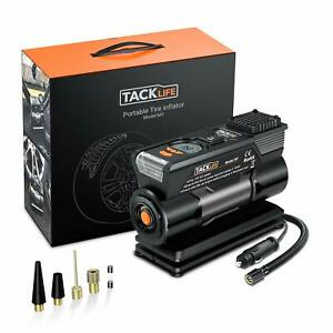 Tacklife Tire Inflator Dc 12v Digital Air Compressor Pump With Precision Gauge