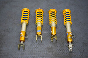 Jdm Used Dfv Ohlins Coilovers With Adjustable Damping For Ap1 Ap2 99 09 S2000