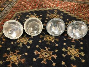 Bmw E24 E30 E28 Headlights Hella H4 h1 Complete Set New