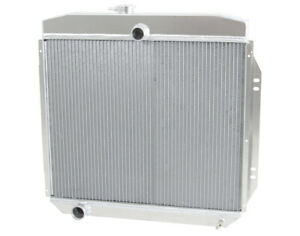 1957 1960 Ford Truck Best F 100 Radiator Wizard Cooling Made In Usa Manual Trans