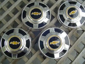 Vintage Chevrolet Chevy Blazer Van Pickup Truck Gmc Hubcaps Wheel Covers 16 In