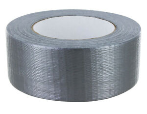 Merco M306 Silver Duct Tape Bulk Pack Full Case 48mm X 55m 24 Rolls