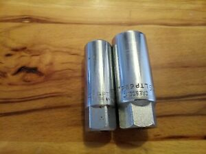 Craftsman 43324 Ee 5 8 Crescent Ltp626 13 16 Spark Plug Sockets Made In Usa