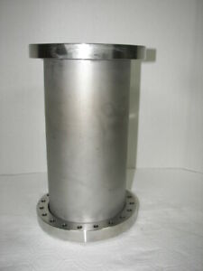 Mdc 2 way High Vacuum Research Chamber 8 Flange 13 tall Used