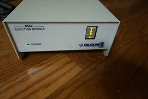 Gilson 845z Injection Module With Power Supply Hplc Lc Gc Vfgt