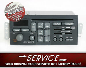Remanufacture Service For 1996 2003 Pontiac Bonneville Firebird Am Fm Cd Radio