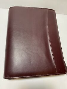 Day runner Classic Edition Planner Organizer Brown 3 Black Ring 8 X 10