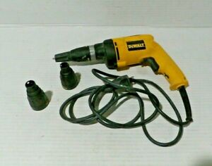 Dewalt Dw 260 Drywall Screw Gun In Case Tested Works
