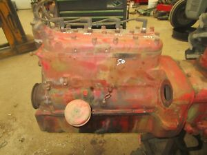 1950 Ford 8n Running Long Block Engine Side Distributor Nice Antique Tractor