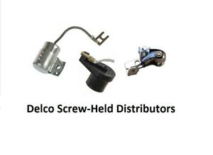Allis Chalmers Tractor Ignition Kit Delco Screw held Distributor