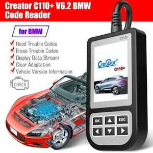 Usa Ship Creator C110 V6 2 Obdii eobd Code Reader Scanner Diagnostic Tool