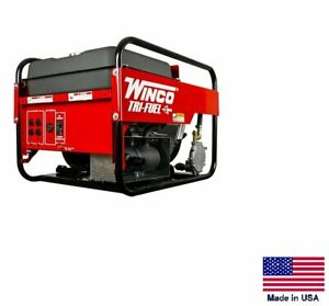 Portable Generator Tri fuel Natural Gas Propane Gasoline 9 Kw 120 240v