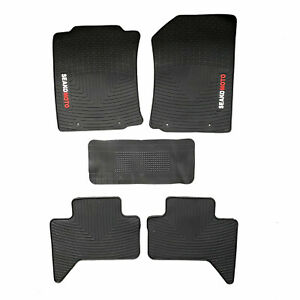 For Toyota Tacoma Trd Truck Floor Mats Full Set Exact Fit All Weather Guard