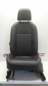 2019 Volkswagen Jetta Driver Left Front Bucket Seat Black Leather Manual Heated