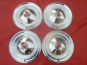 Vintage 1954 55 Packard Caribbean 15 Hubcaps Wheel Covers