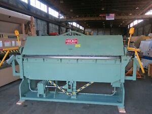 Chicago Dreis Krump 3 16 X 8 Power Apron Brake Instead Of Press Brake