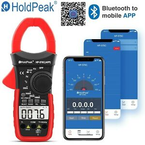 Digital Clamp Meter Dc Current 4000 Counts Ac dc Volt Portable Handheld Tester