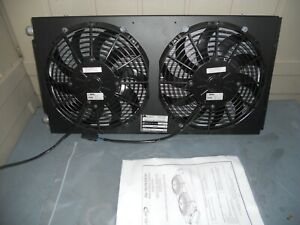 Red Dot A c Power Condenser W Dual Fan 12v 25 in 77r1512 Rd 4 7083 0p