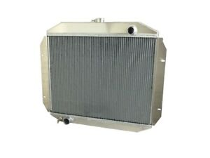 1965 Ford Truck V8 Best Aluminum Radiator Wizard Cooling Made In Usa Autotrans