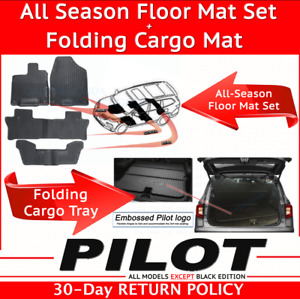 Genuine Oem Honda Pilot All Season Floor Mat Set Folding Cargo Mat 2019 2020