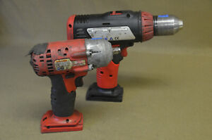 Snap On Drill Driver 1 2 Cdr6850a And Impact Wrench U A