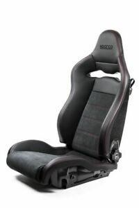 Sparco Spx Special Edition Black red W Gloss Carbon Shell Left Side Seat